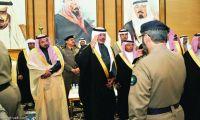أمير الباحة يستقبل المعزين في وفاة الملك والمبايعين لخادم الحرمين