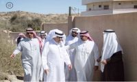 محافظ بلجرشي سفر بن سويد الغامدي يتفقد احتياجات قرى الربقه